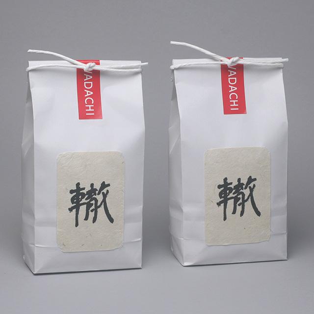 轍米 450g×2個入|新潟県特別栽培農産物認証米